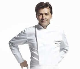 Yannick Alléno - 3 Michelin stars chef and Chairman of the Bocuse & Co Committee of the Institut Paul Bocuse