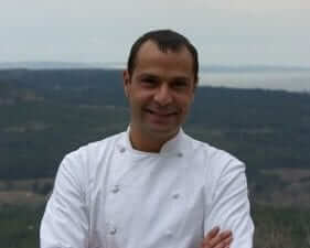 Dan Bessoudo - Chief owner of Dan B, 1 étoile Michelin Ventabren