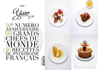 50 heritage recipes created by Institut Paul Bocuse showcased in the Yam magazine