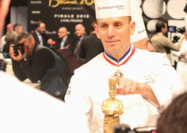 Our chef Davy Tissot competes for the Bocuse d'Or France