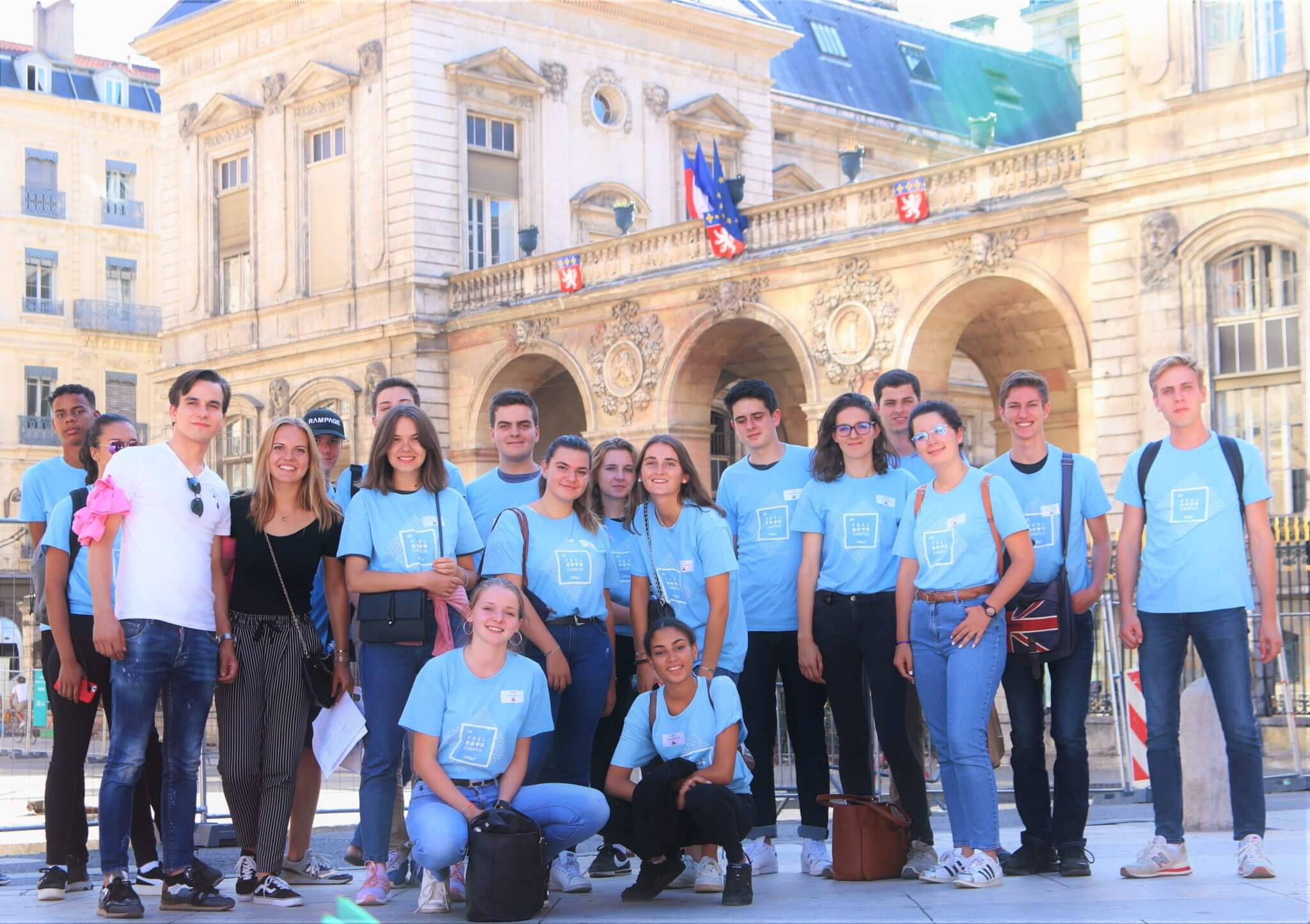 Integration week: treasure hunt and race to discover Lyon