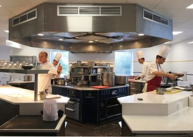 The Institut Paul Bocuse becomes the first French school to receive a Michelin star for its training restaurant