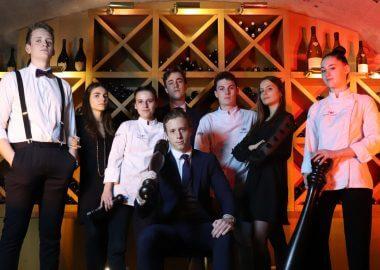 Entrepreneurial flair and brimming with creativity – students at Institut Paul Bocuse reveal their talent
