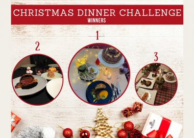 Our students showcase their talent during the Christmas Dinner Challenge