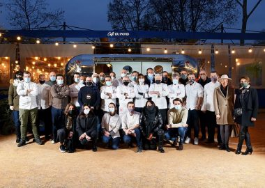 "Our students and graduates involved in the ""Chefs' Caravan"" solidarity initiative in Lyon"